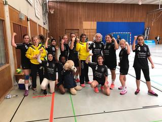 Bilanz wD-Jugend: Zwei Siege und eine Niederlage aus den ersten drei Spielen.