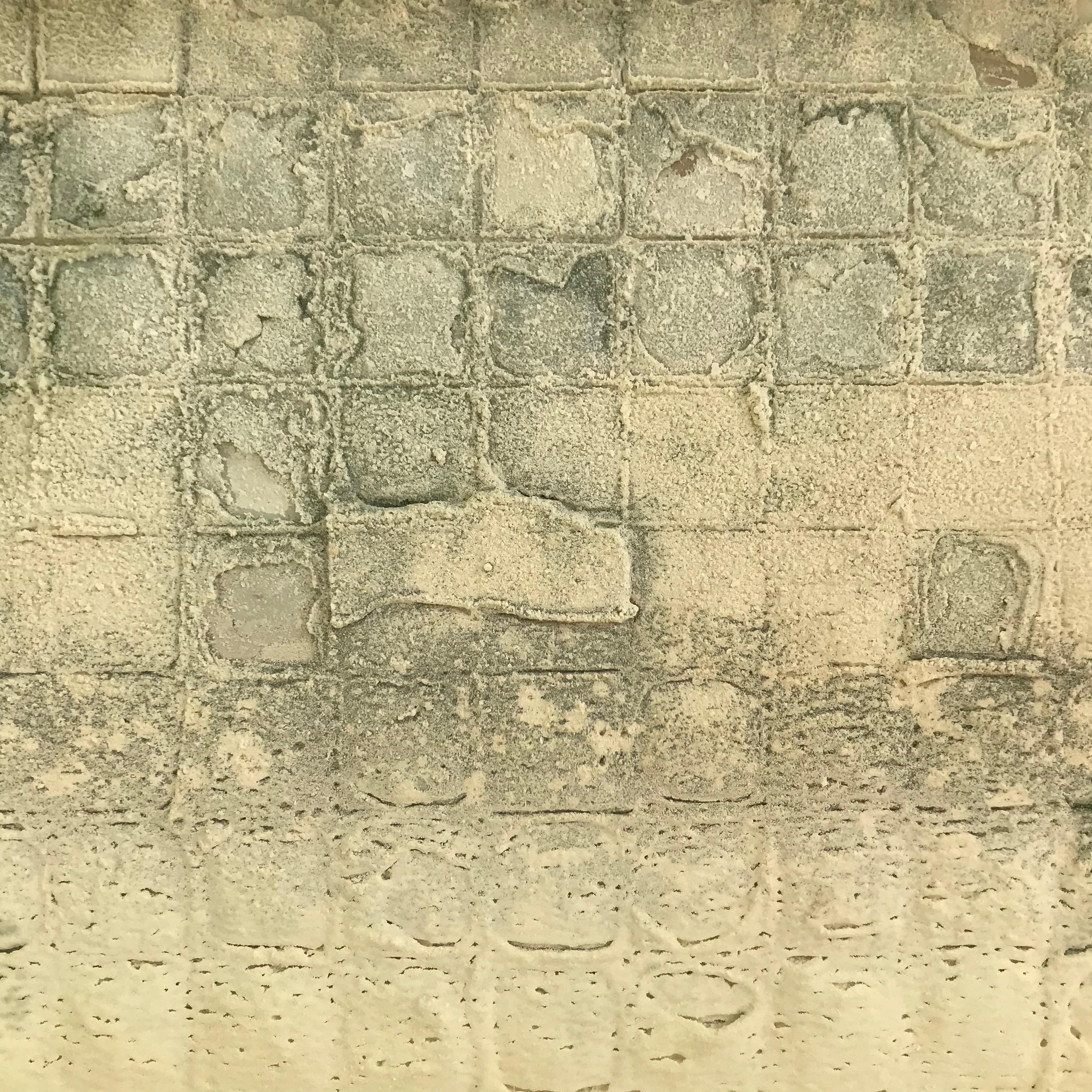 Mosaïque de calcaire.
