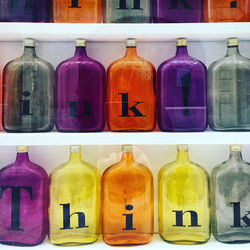 Think, Fondation Michalsky, Montricher, Suisse.