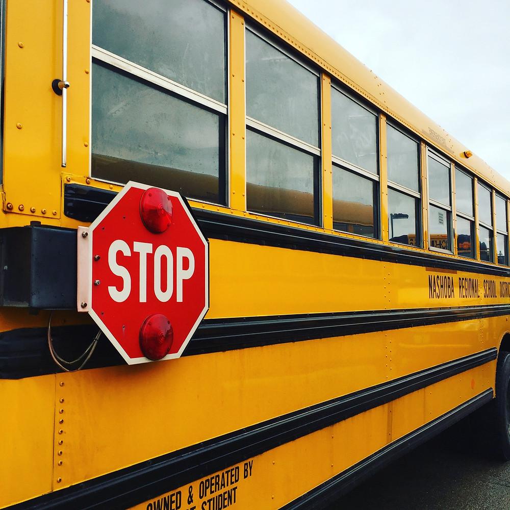 School bus, Bolton, MA, États-Unis