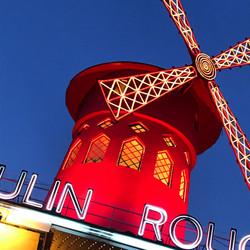 Rouge! Paris, France.