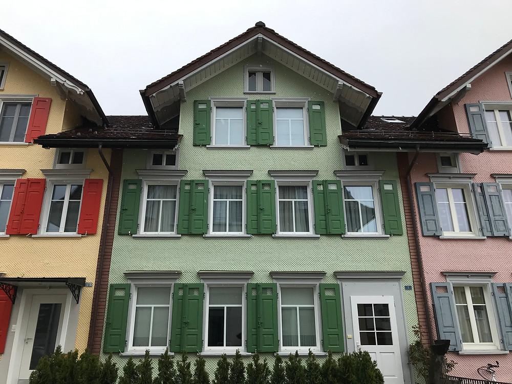 Les façades colorées d'Appenzell attirent l'œil! Suisse