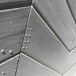 Escalier C, Maison Tavel, Genève, Suisse.