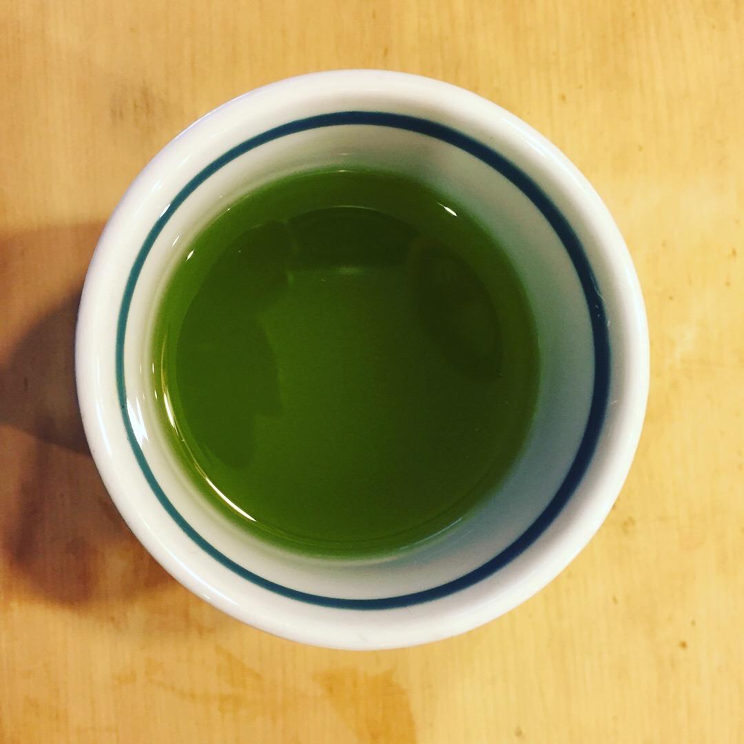 Le mystère de thé vert