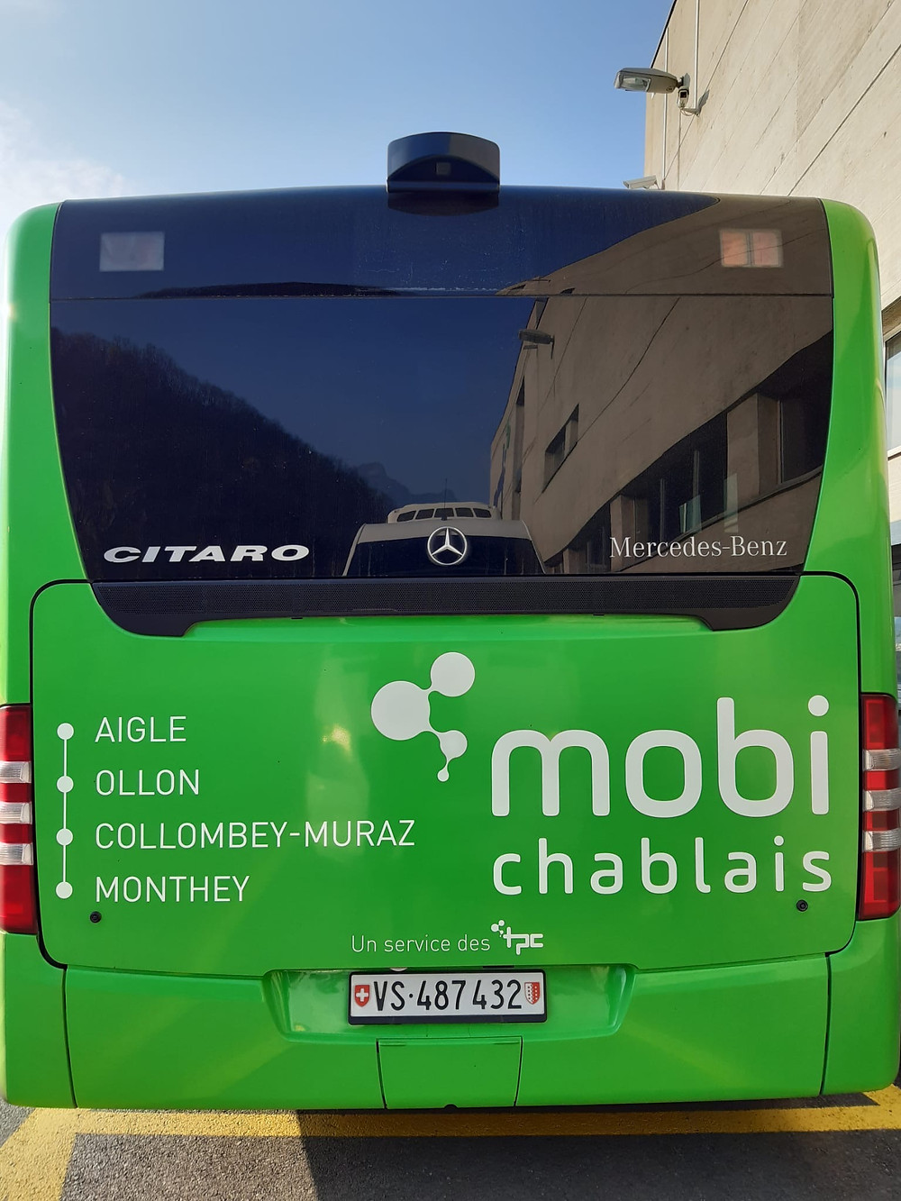 Bus TPC MobiChablais