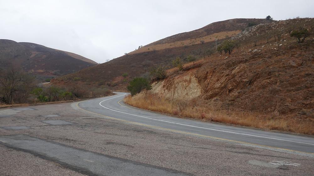 """Le """"geo trail"""", Barberton , Afrique du Sud."""