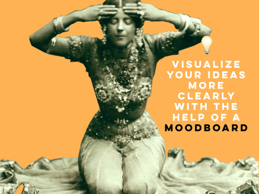 Visualize your ideas more clearly with the help of a moodboard
