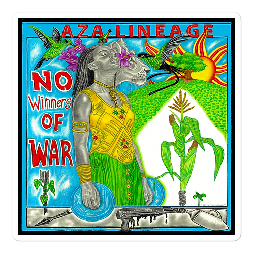 Aza Lineage - No Winners of War Stickers