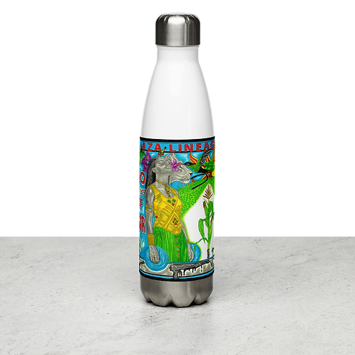 Aza Lineage - No Winners Of War - Stainless Steel Water Bottle
