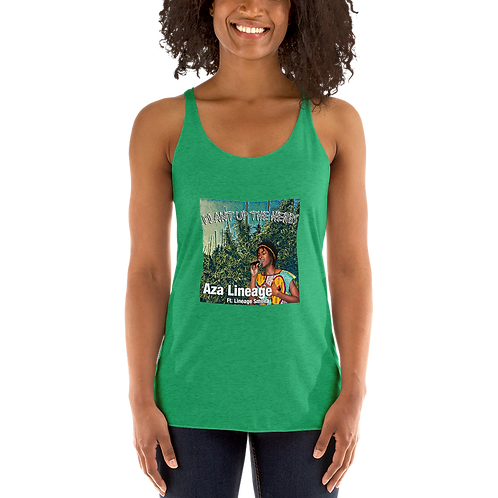 Plant Up The Herbs Women's Racerback Tank