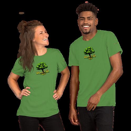 More Life Logo - Short-Sleeve Unisex T-Shirt