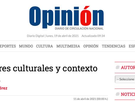 Corredores culturales y contexto regional