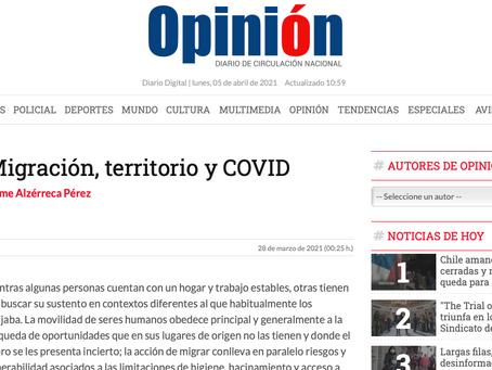 Migración, territorio y COVID-19