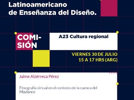Participación en el congreso latinoamericano de Enseñanza del Diseño