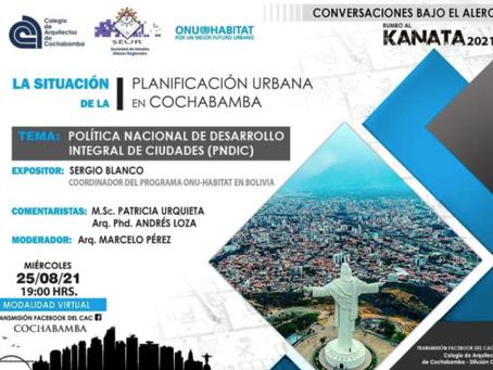 La situación de la Planificación urbana en Cochabamba