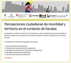 FORMULARIO DE PERCEPCIÓN CIUDADANA