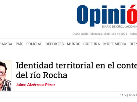 Identidad territorial en el contexto del río Rocha