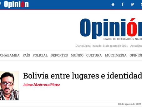 Bolivia entre lugares e identidades
