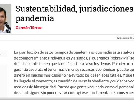 Sustentabilidad, jurisdicciones y pandemia