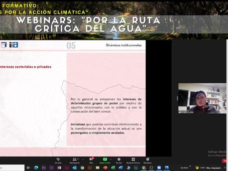 """Participación en el """"Ciclo formativo: Juntos por la acción Climática"""""""