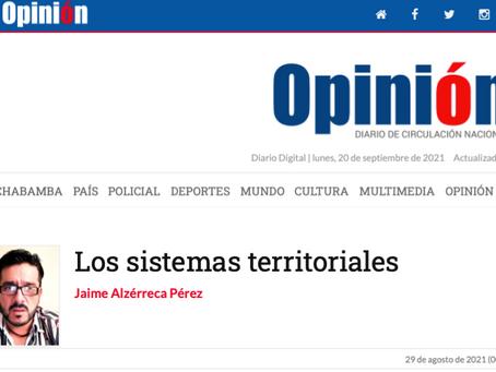 Los sistemas territoriales
