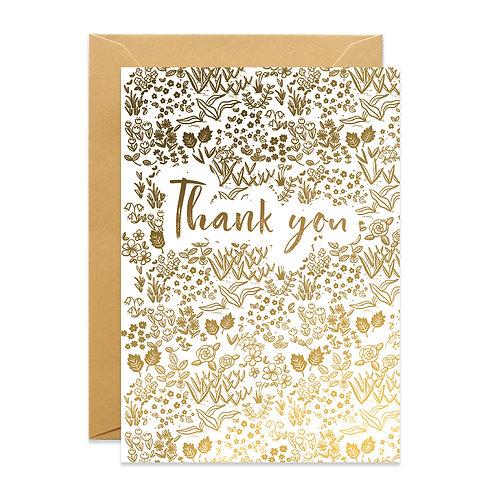 Golden Thank You