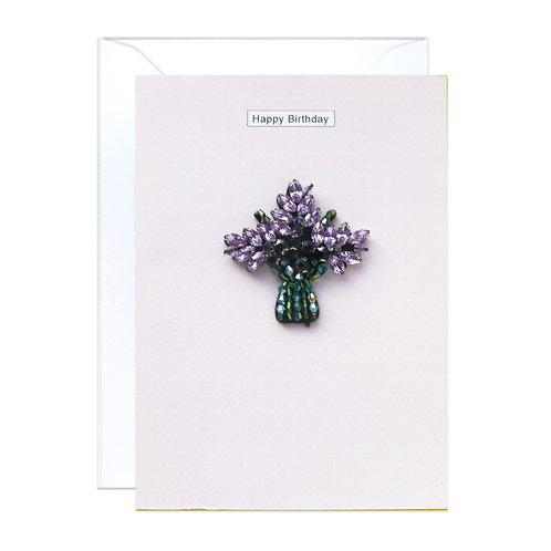 Purple Bouquet Birthday
