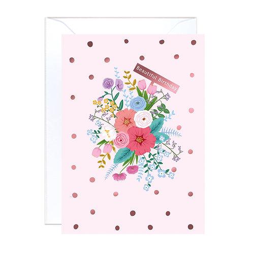 Floral Garden Pink Birthday