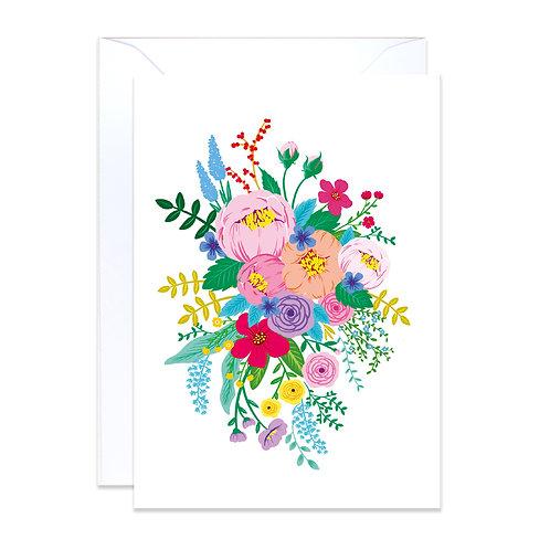 Floral Garden White