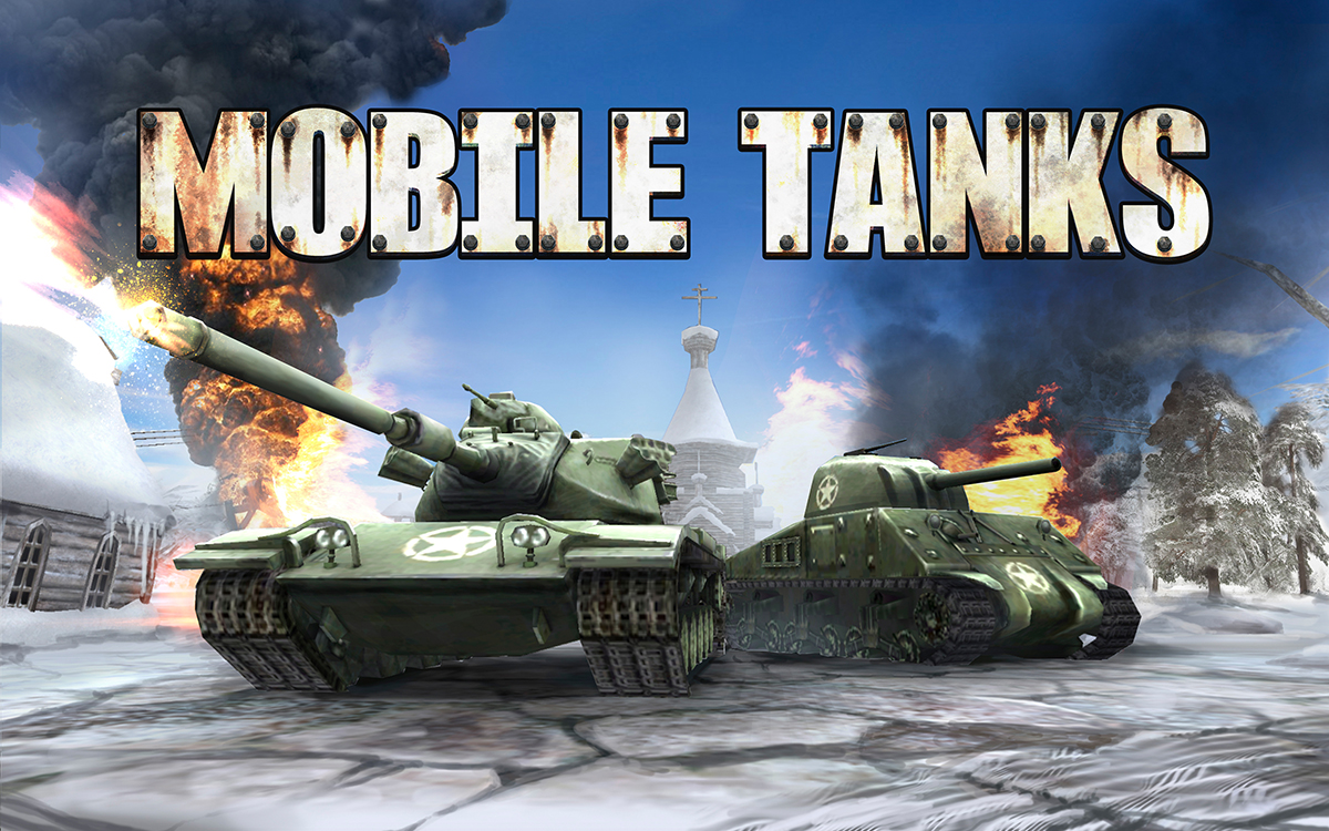 Mobile Tanks splash art