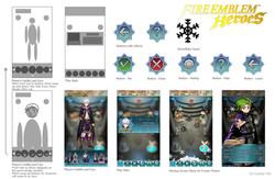 FireEmblem Heroes UI design