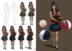 Angela concept Layout _Live Action Game_Layout