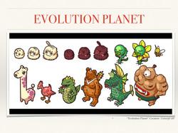 Evolution Planet Creature Design