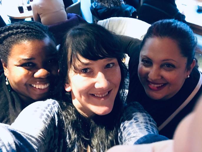 Eve, Claire, Jamila