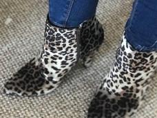 Julie Daniel and the Leopard print boots