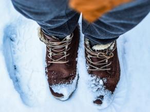 Stopy zimową porą