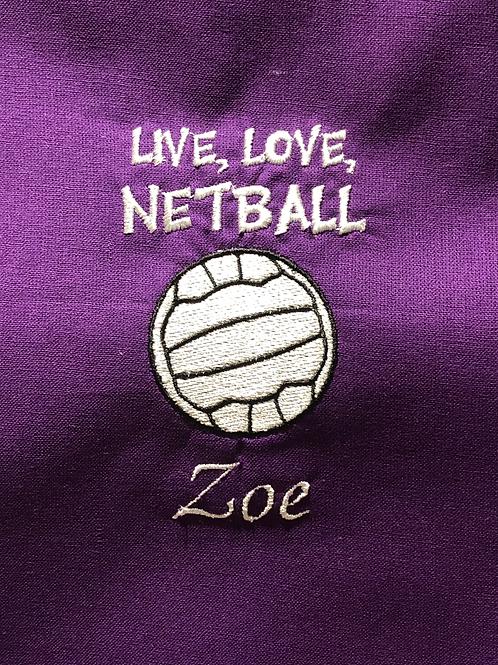 Classic Live, Love Netball Bag