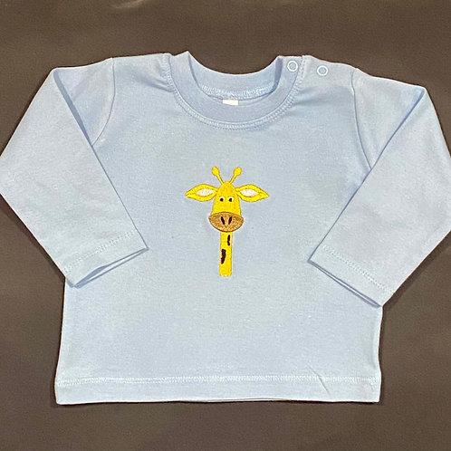 Long sleeve kids Giraffe T-shirt
