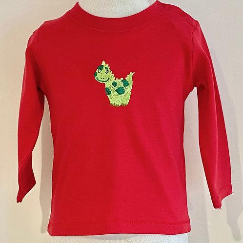 Long Sleeve Dinky Dino T-Shirt