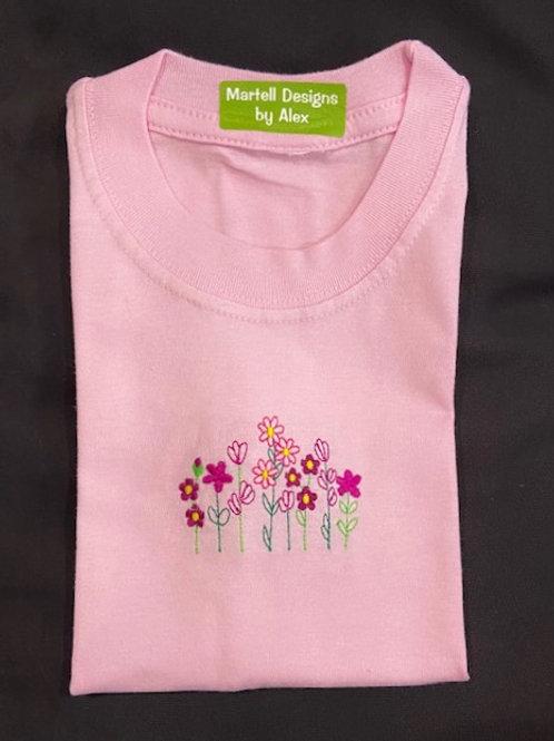 Wild Flowers short sleeve T-shirt