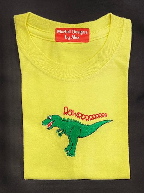 Dino Rawrrrr short sleeve t-shirt
