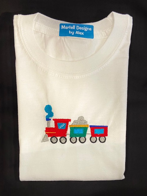 Choo Choo Train short sleeve T-shirt