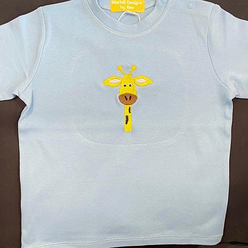 Super Tall Giraffe Short Sleeve T-shirt