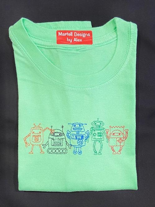 Robots short sleeve T-Shirt