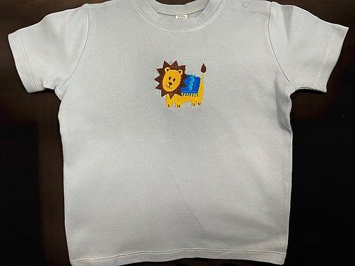 Short Sleeve Lion T-shirt