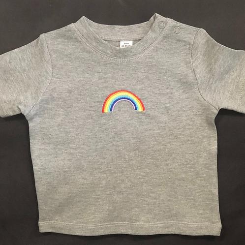 Long Sleeve Rainbow T-shirt