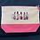 Thumbnail: Embroidered Lipsticks on a  Make-Up/Wash Bag