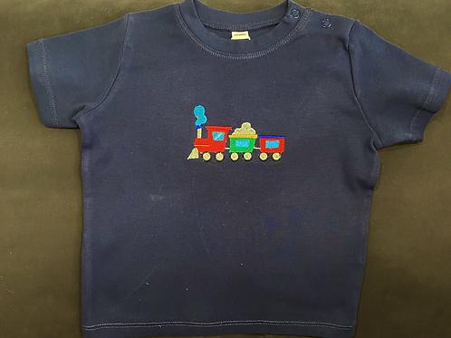 Short Sleeve Choo Choo Train T-shirt