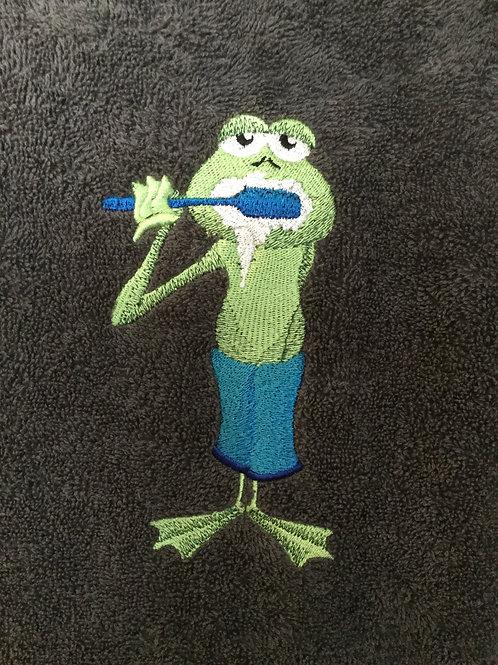Mr Ribbit Hand Towel