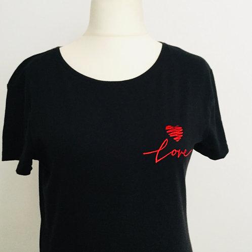 """Sketch heart 'Love"""" T-shirt"""